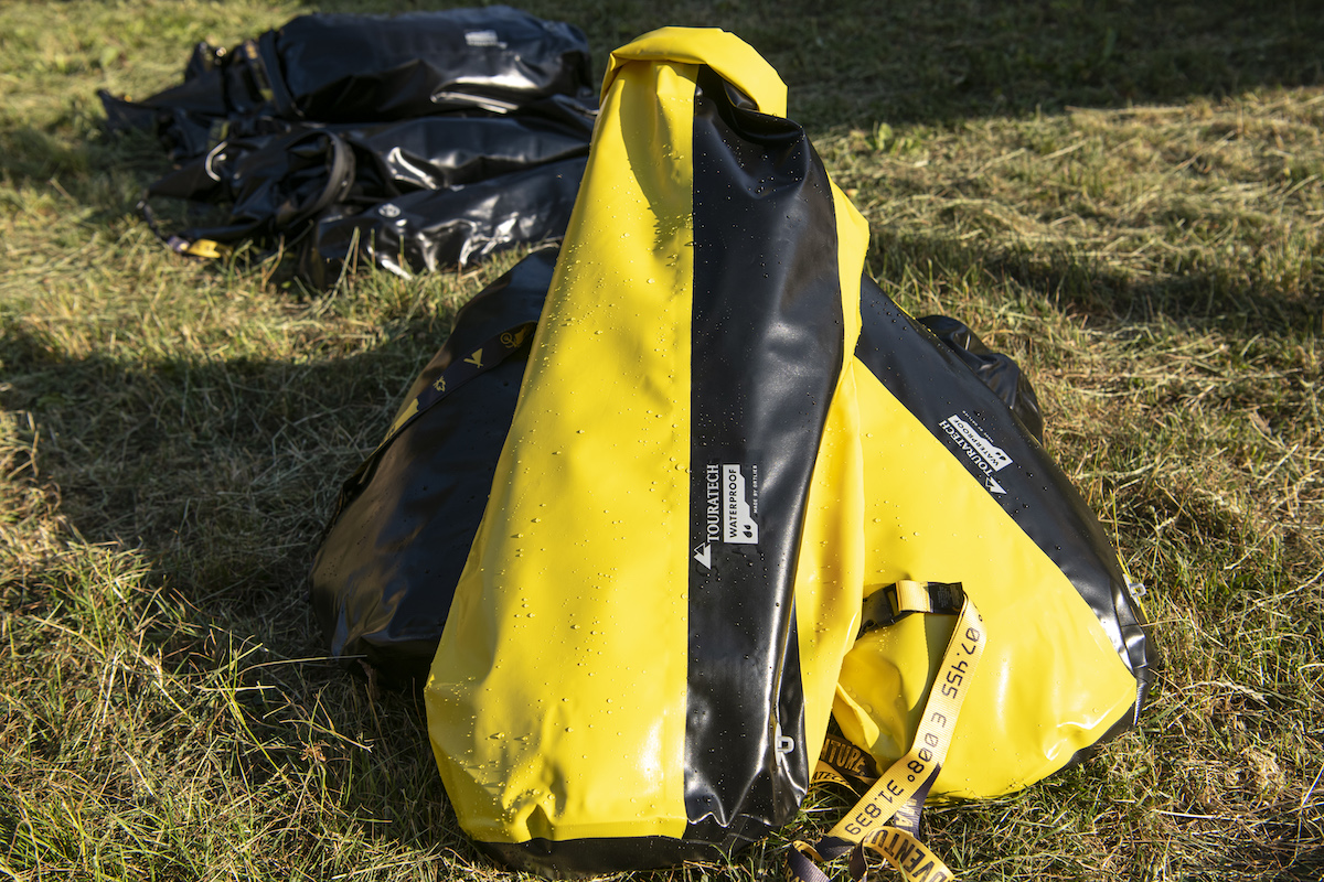 touratech waterproof borse
